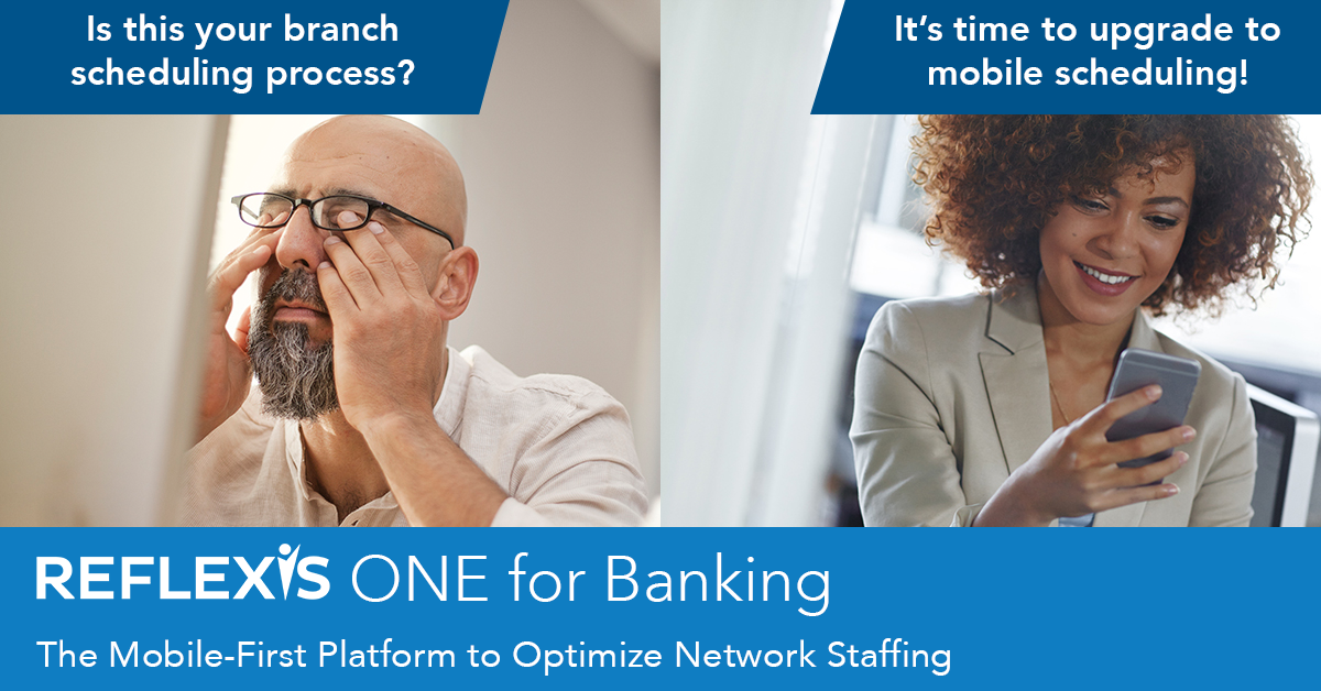 Branch Banks Mobile Scheduling Workforce Management