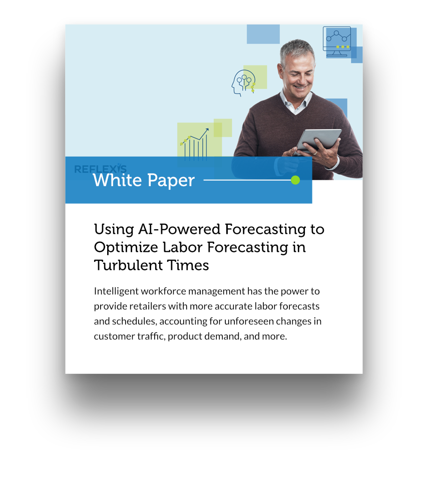 White Paper: Using AI-powered forecasting to optimize labor forecasting in turbulent times